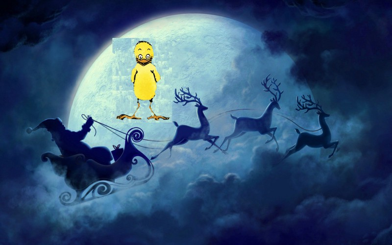 Everitouthèque est en vacances chez le Père Noël, jusqu'au 3 Janvier 2015